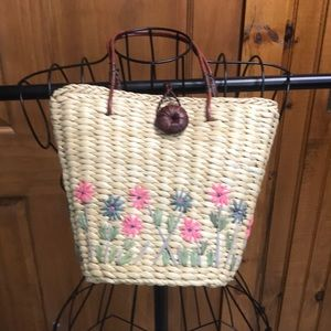 Mini Straw Bag